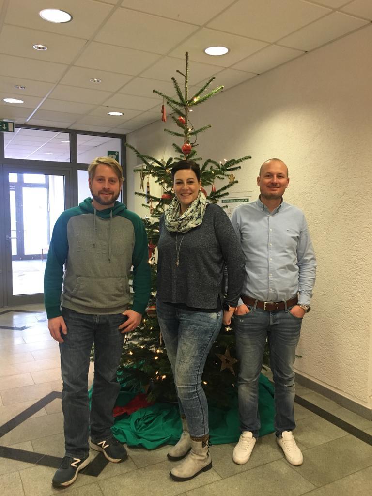 Henning Rathert, Ramona Rossbach und Mirko Paul (v.l.n.r.)