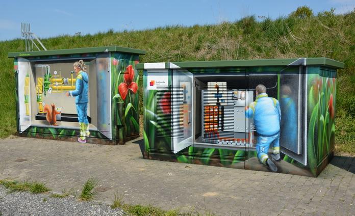 Streetart am Ardey - Stadtwerke Soest